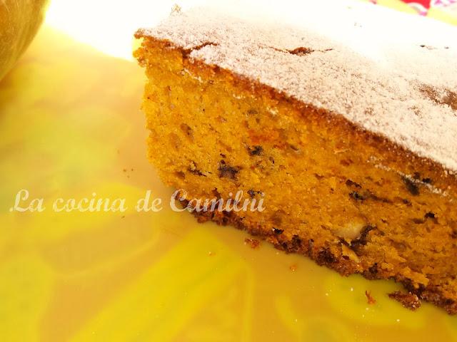 Bizcocho de calabaza (La cocina de Camilni)