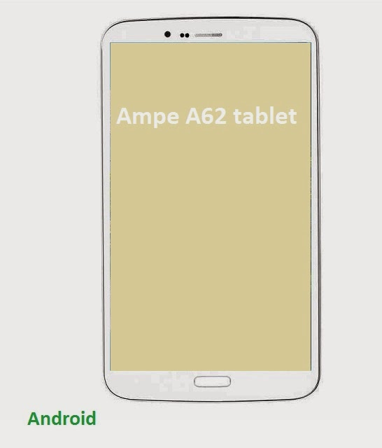 Ampe A62 tablet specifications and video overview