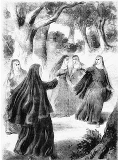 nuns duelling