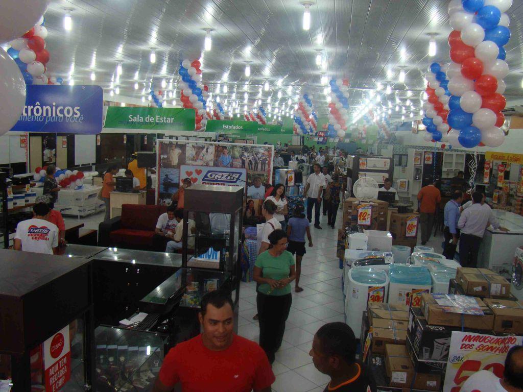 63f3cdf0558 Gazin inaugura lojas em Santarém ~ Quarto Poder