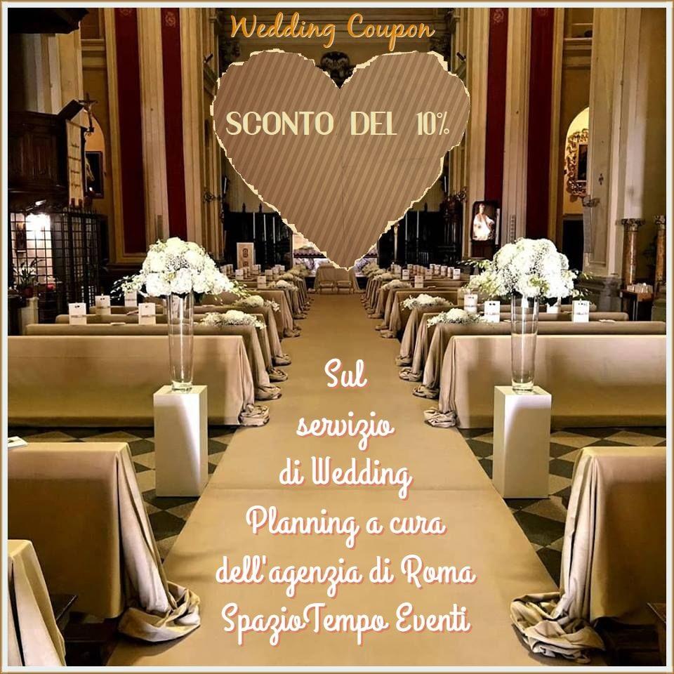 Segnaposto Matrimonio Outlet.Wedding Coupon Sconti Matrimonio Sposi Outlet Sconto Del 10