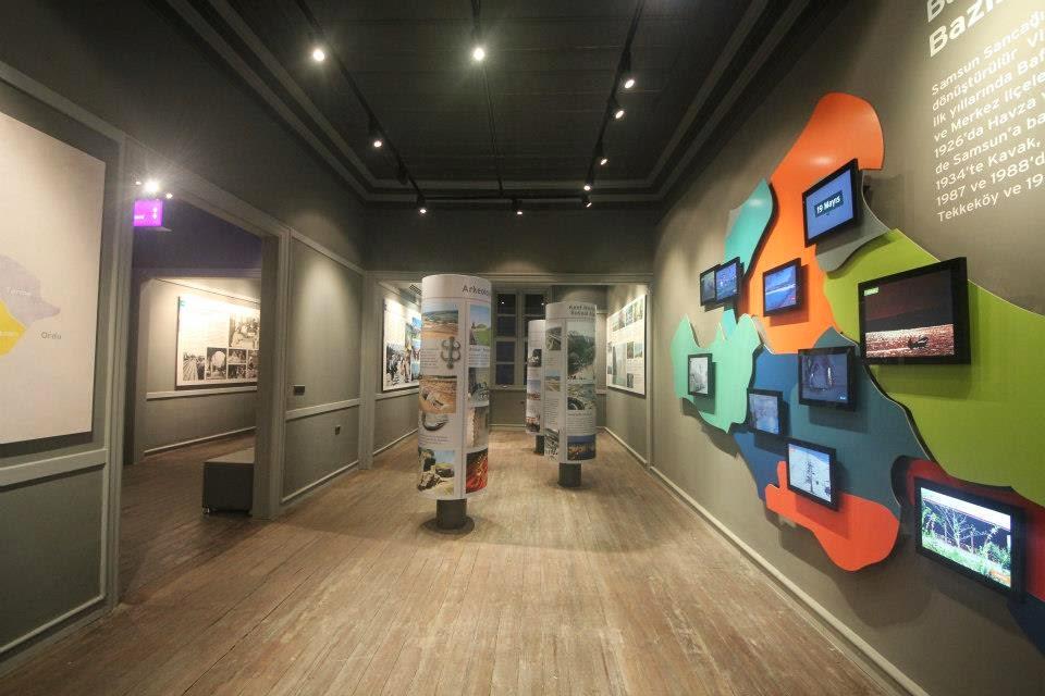 Samsun Kent Müzesi İçi