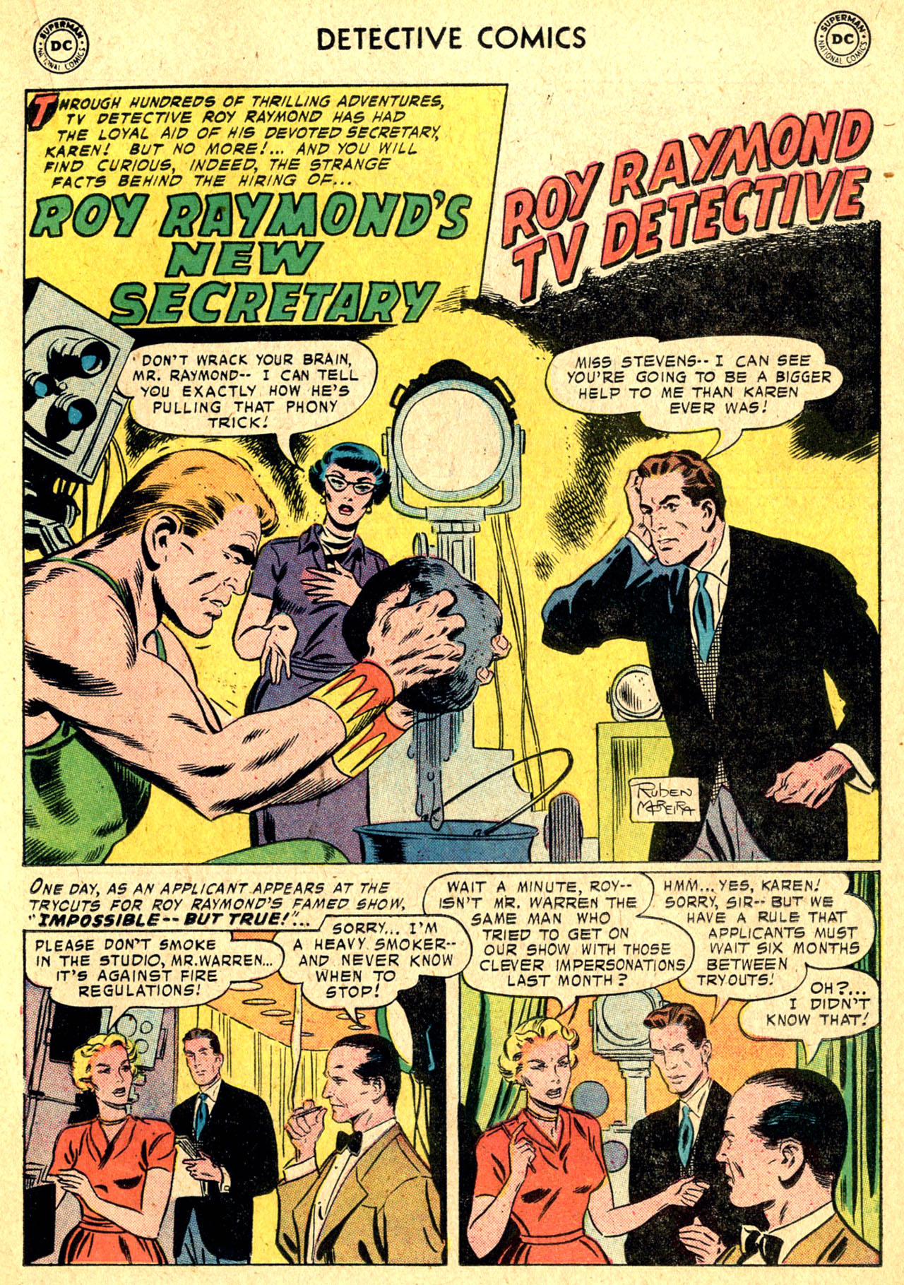 Read online Detective Comics (1937) comic -  Issue #250 - 17