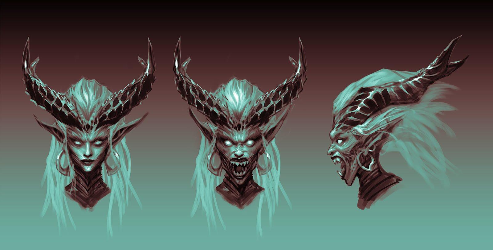 Cireisdead Sorcery Concept Art The Banshee