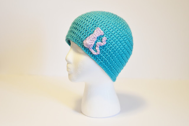 With Alex Adult Small Beanie Free Crochet Pattern