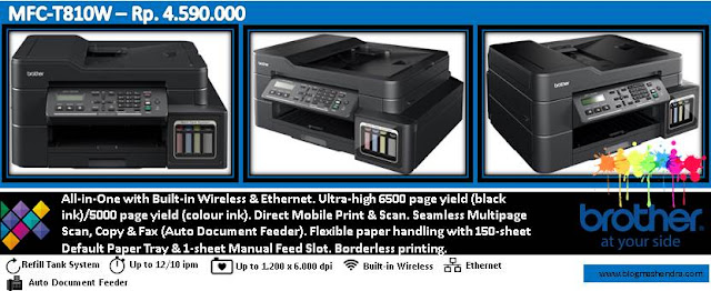 Printer Brother Tipe MFC-T810W - Blog Mas Hendra