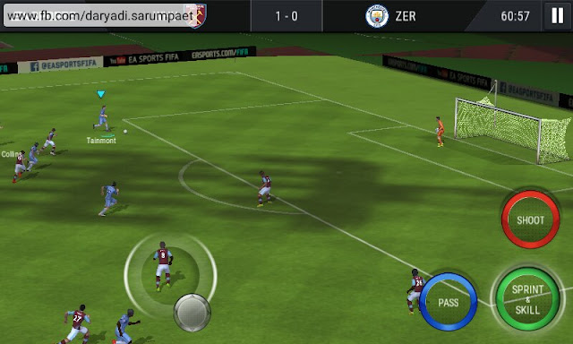 fifa mobile soccer android game match screenshot