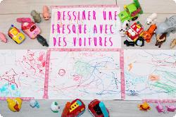 http://www.maman-clementine.com/2014/10/dessiner-une-fresque-avec-des-voitures.html