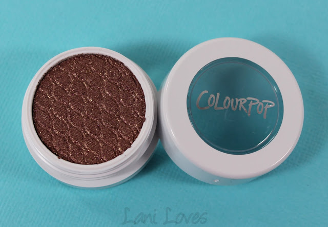 ColourPop Super Shock Shadow - Prickly Pear Swatches & Review