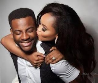 Ebuka Obi-Uchendu and his wife