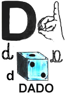 Alfabeto com libras para imprimir