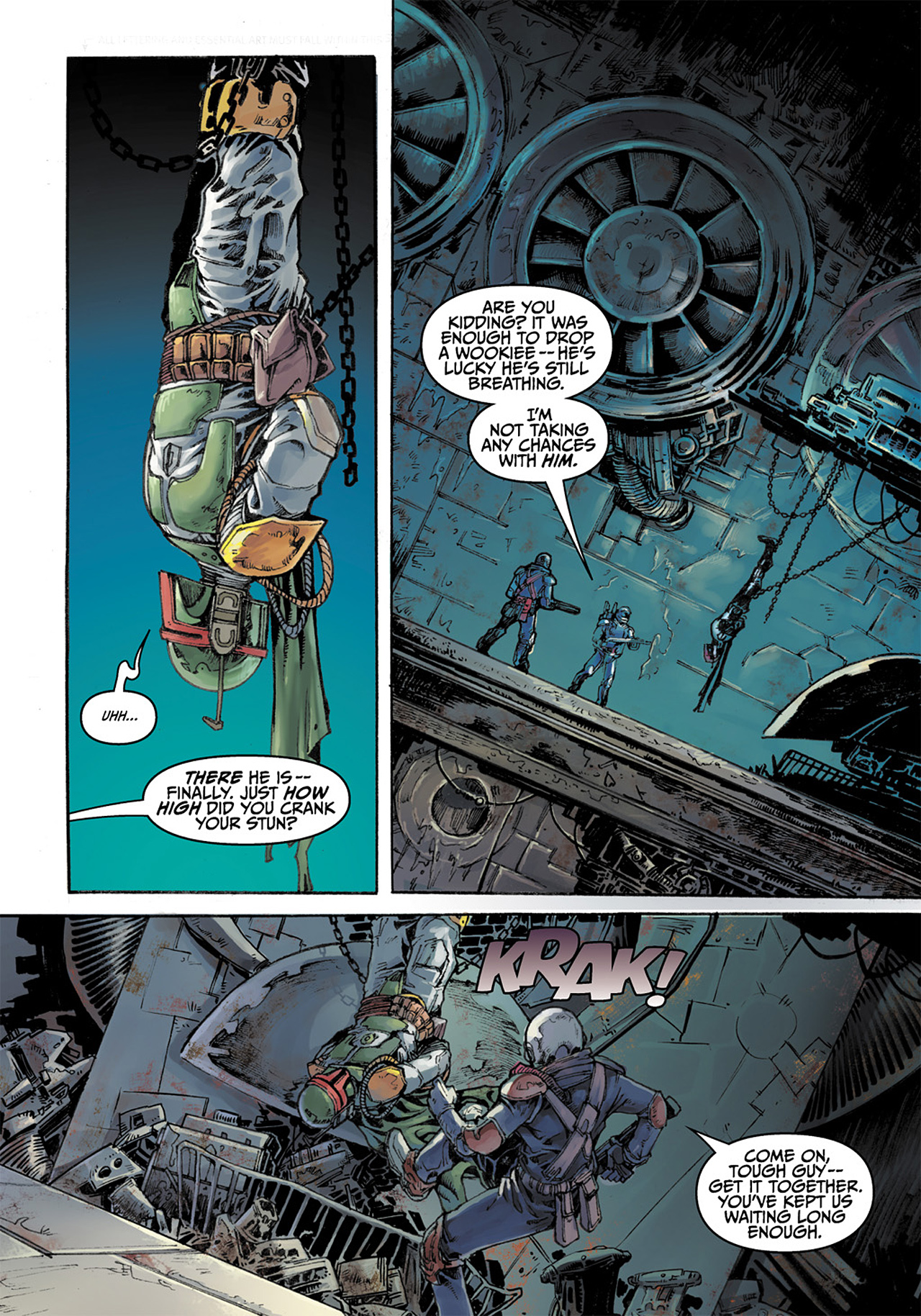 Read online Star Wars Adventures comic -  Issue # Issue Boba Fett and the Ship of Fear - 32