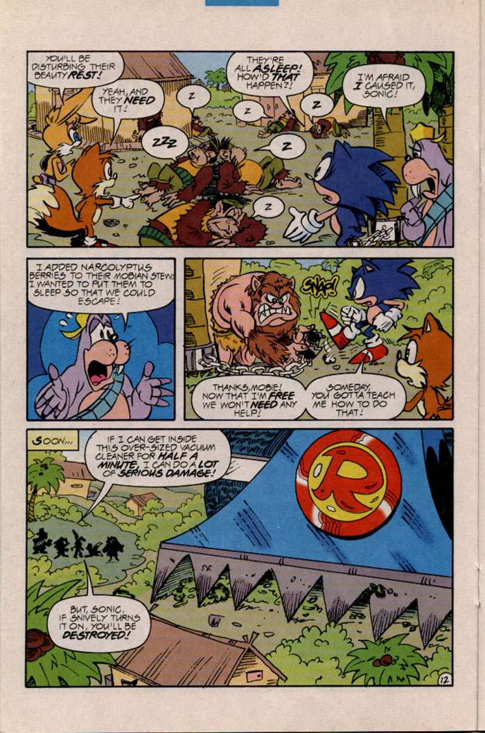 Read online Sonic The Hedgehog comic -  Issue #45 - 13