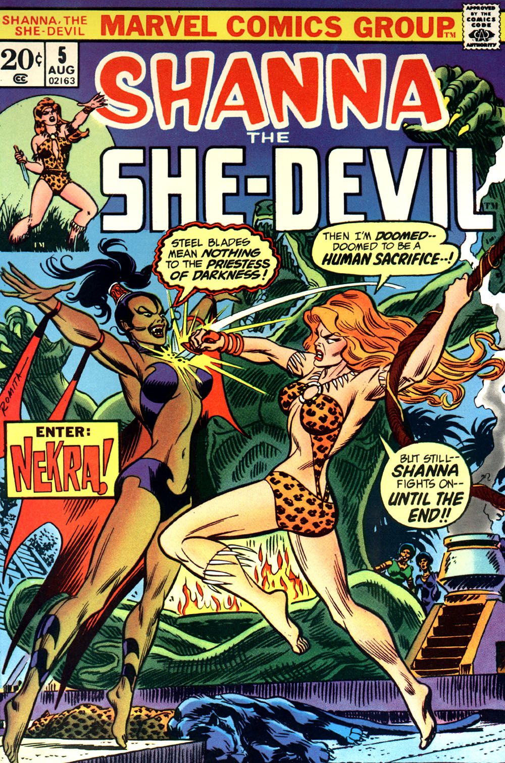 Read online Shanna, the She-Devil (1972) comic -  Issue #5 - 1