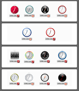 cara menambahkan jam dan kalender di blog - blog