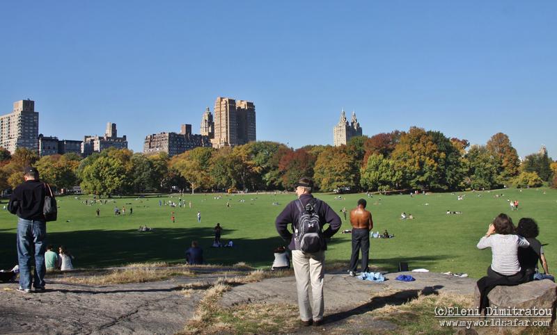 στον ήλιο του Central Park