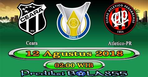 Prediksi Bola855 Ceara vs Atletico-PR 12 Agustus 2018