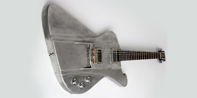 Wild Customs Firewild EMD Aluminum Body Guitar with All Rosewood Neck
