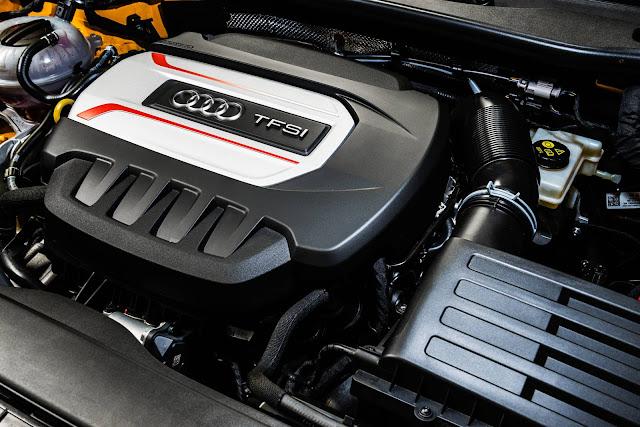 Novo Audi TT-S 2016 - motor