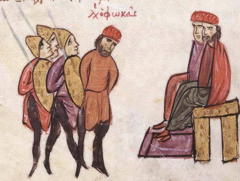 Byzantine Military: Political Castration and Mutilation in
