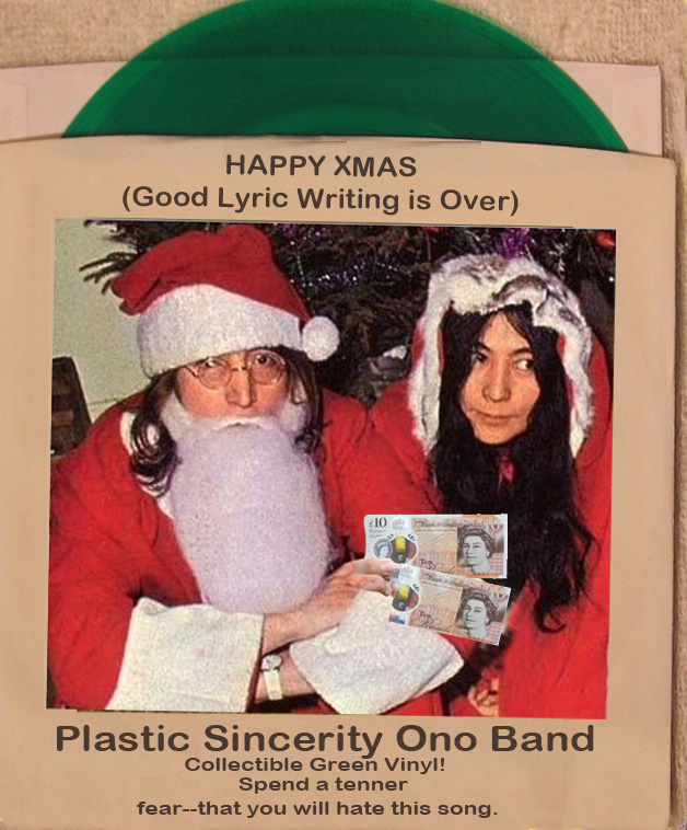 happy xmas not if you hate bad christmas songs including down in the valley john lennons - John Lennon Christmas Song
