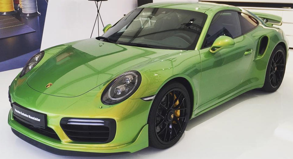 the paint of this porsche 911 turbo s costs nearly 100 000. Black Bedroom Furniture Sets. Home Design Ideas