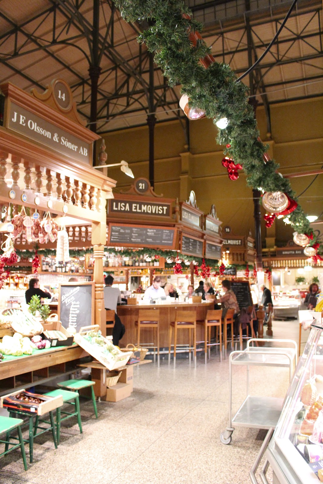Best coffee & fika in stockholm: Ostermalms Saluhall
