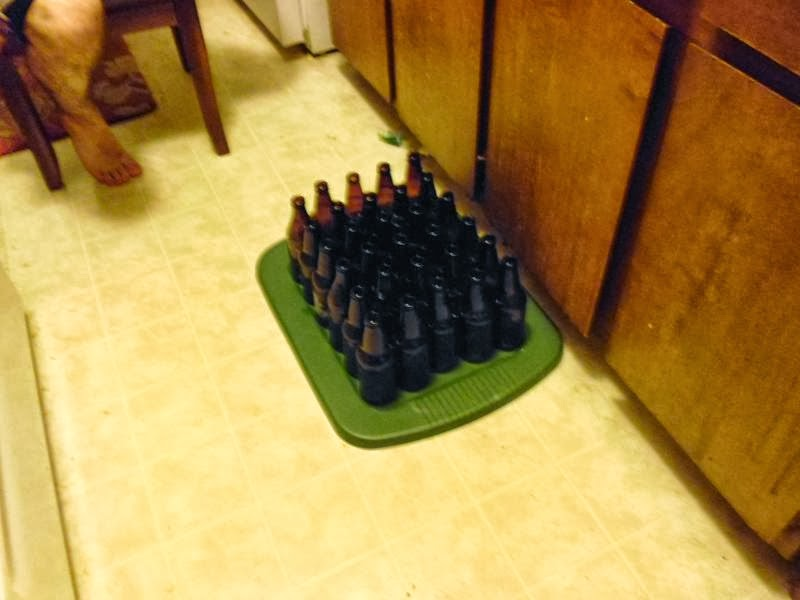 Empty Bottles ready to fill