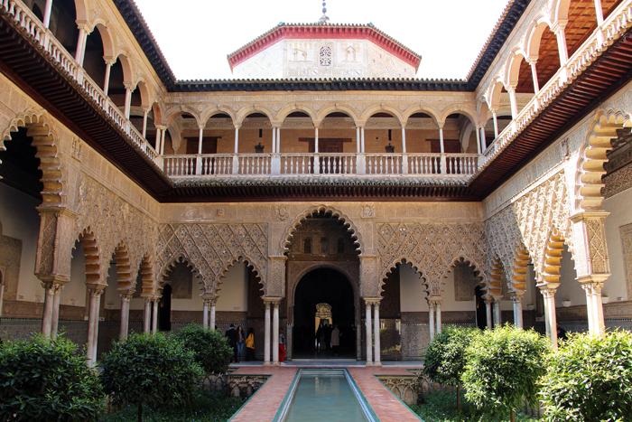 Königspalast Alcazar in Sevilla