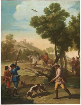 Partida de caza (1775), de Francisco de Goya (Museo del Prado)