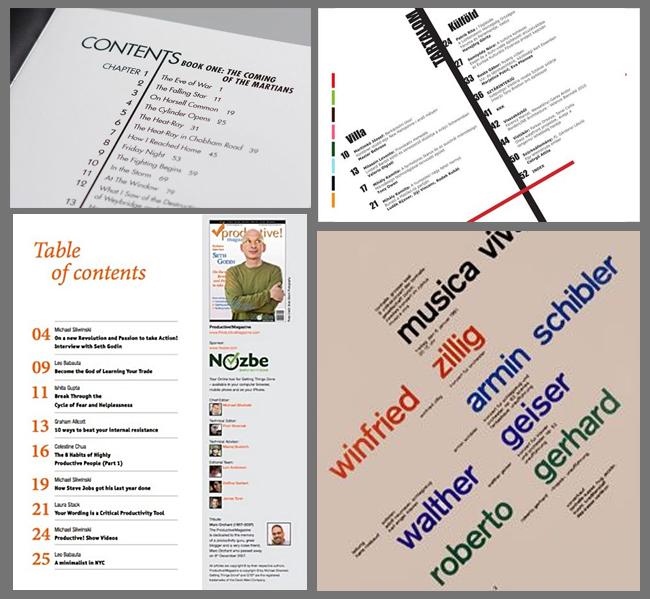 aks tipografik sistemi örnekleri