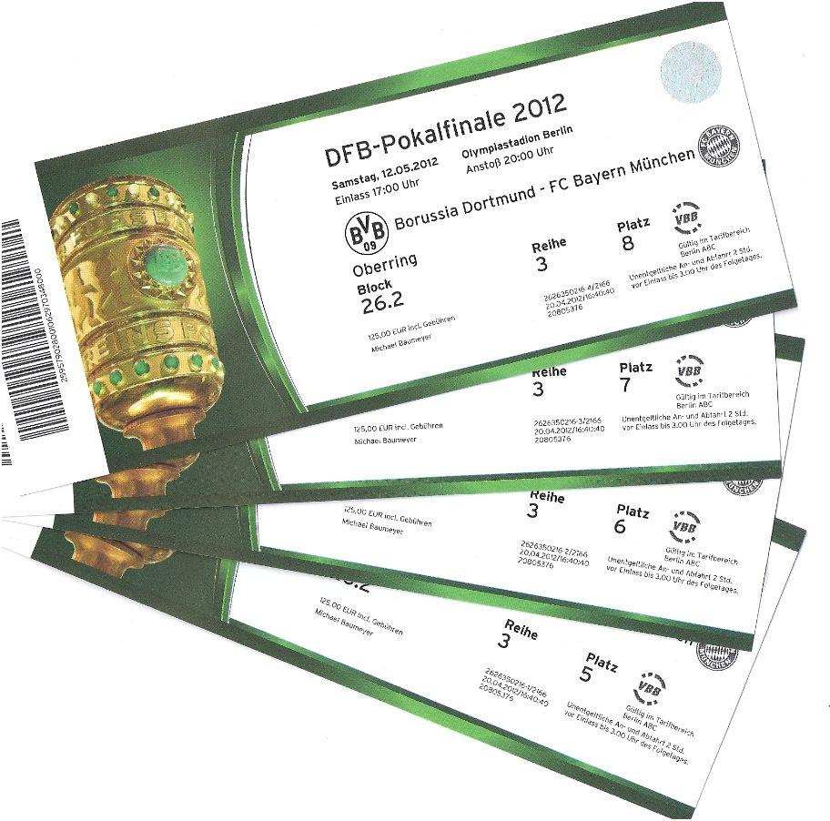 Dfb Pokalfinale Tickets