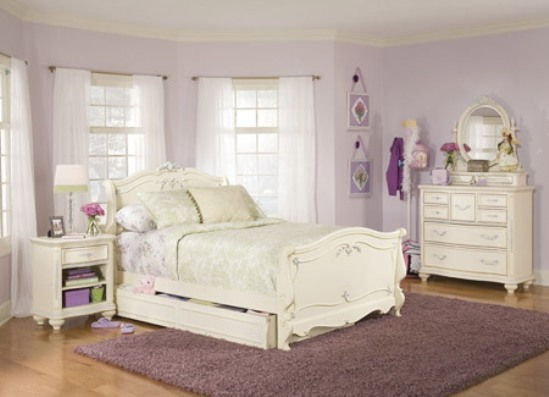 White bedroom furniture idea amazing home design and - White bedroom furniture for girl ...