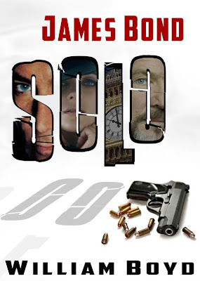 Fan art book cover for William Boyd's 'James Bond 007 - SOLO'