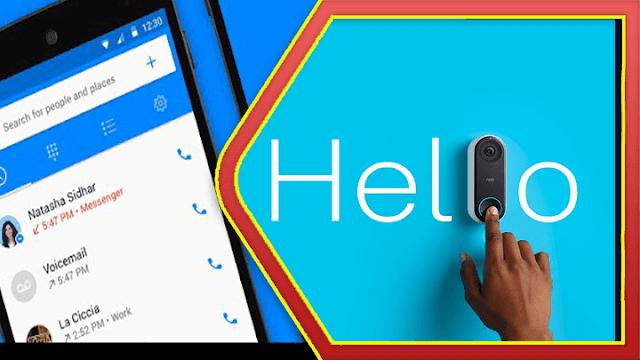 تحميل تطبيق Facebook Hello Dialer apk اخر إصدار