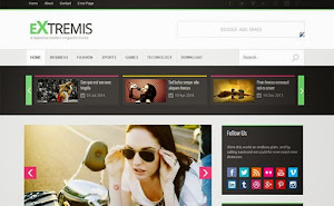 Extremis Grid blogger template