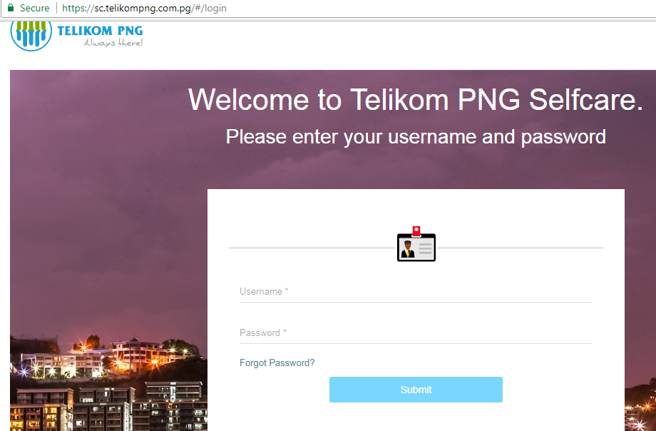 How to set up an Online Account with Telikom PNG - PNG eHow