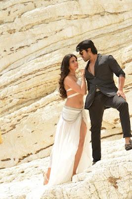 Navel Show Stills from Telugu Movie Bruce Lee 2 Navel Queens