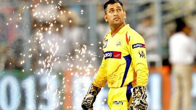 चेन्नई सुपर किंग्स के कप्तान महेंद्र सिंह धोनी