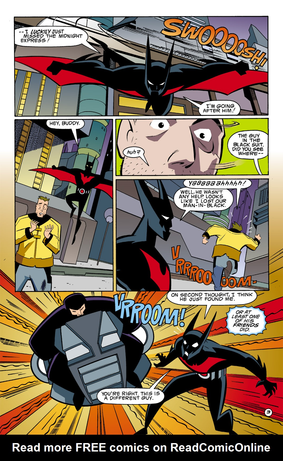 Batman Beyond [II] Issue #2 #2 - English 4