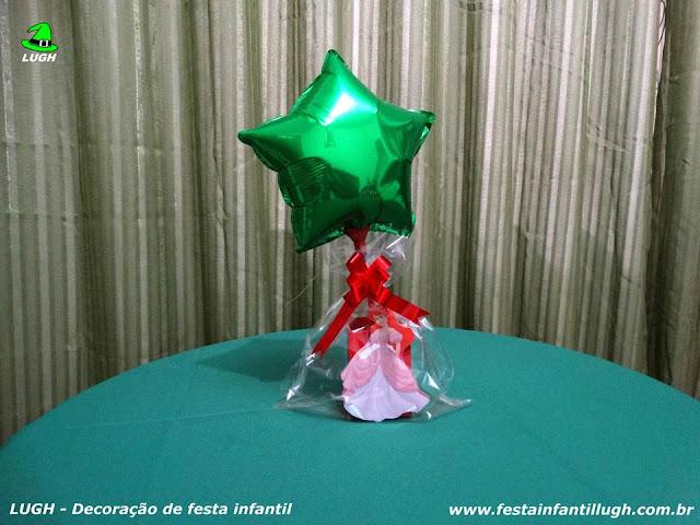 Pequena Sereia - festa temática - enfeites de centro de mesa para festa infantil