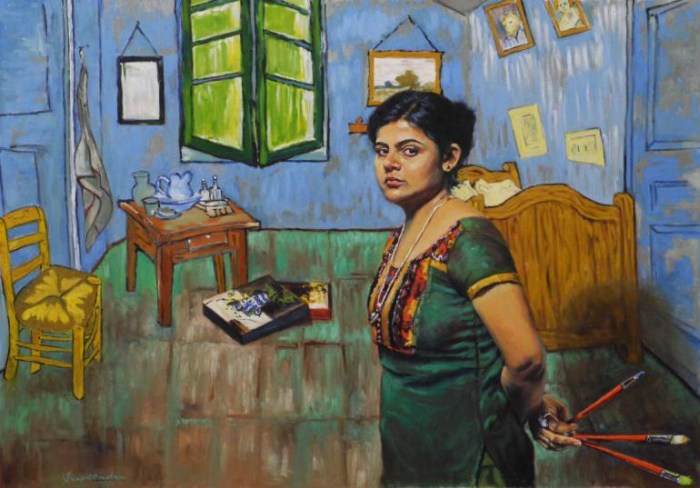 Индийская художница. Swapnil Srivastava