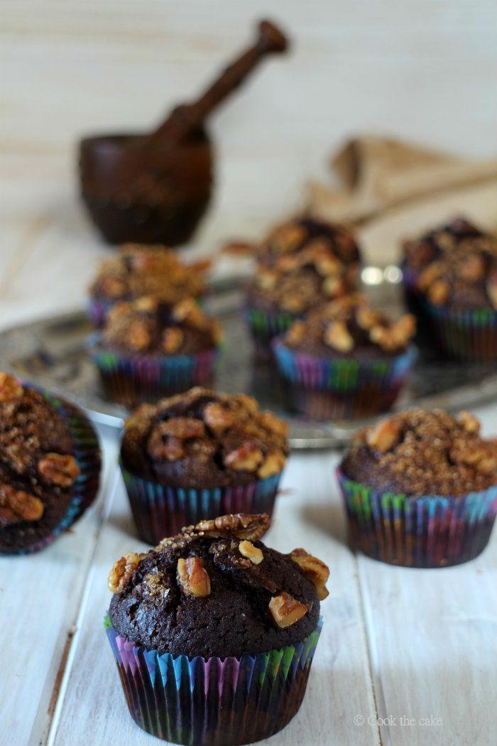 magdalenas-de-algarroba, carob-flour-cupcakes