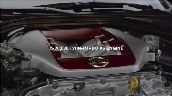 Motor V6 3.8L Twin Turbo Nissan GT-R