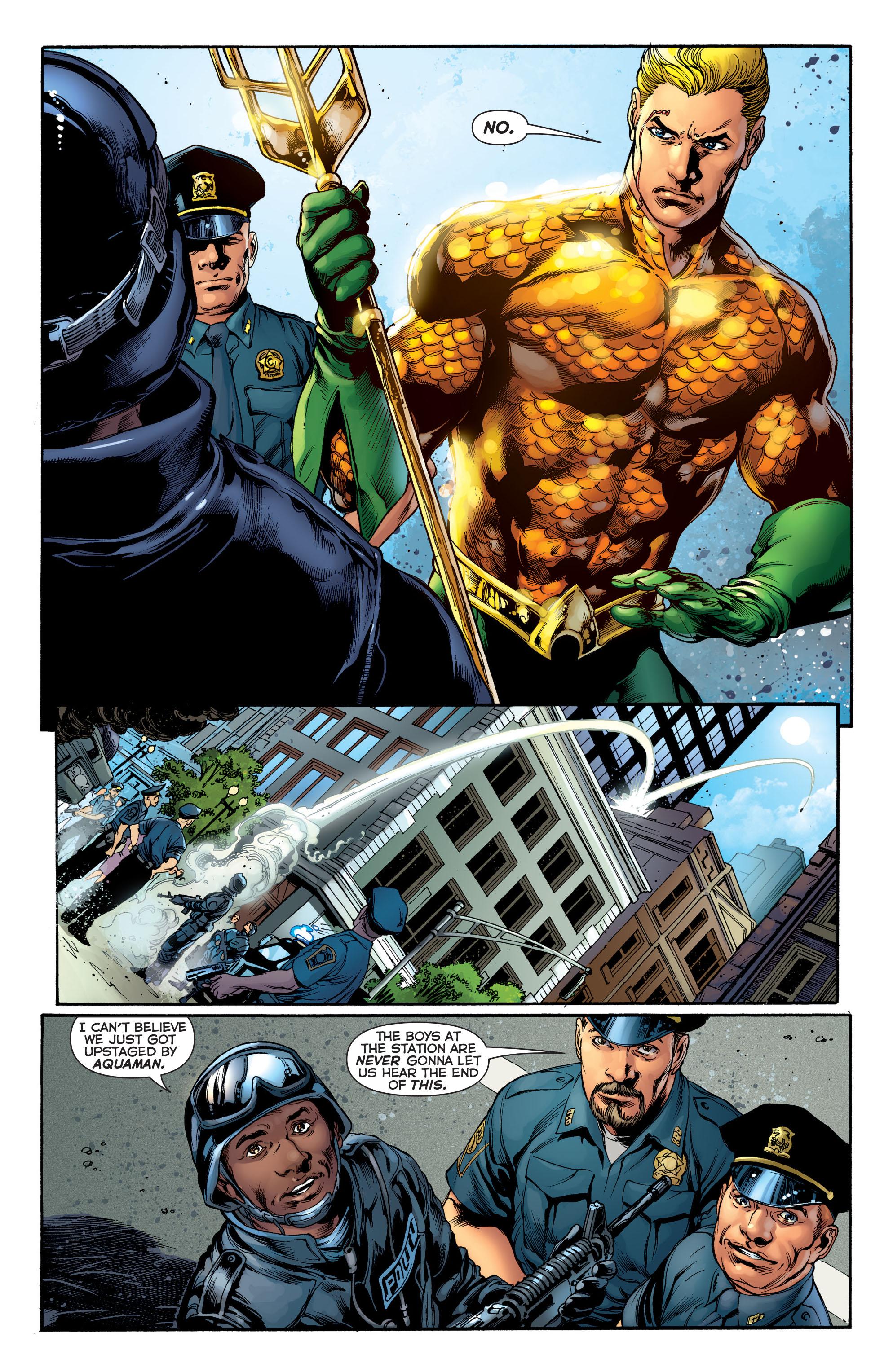 Read online Aquaman (2011) comic -  Issue #1 - 11