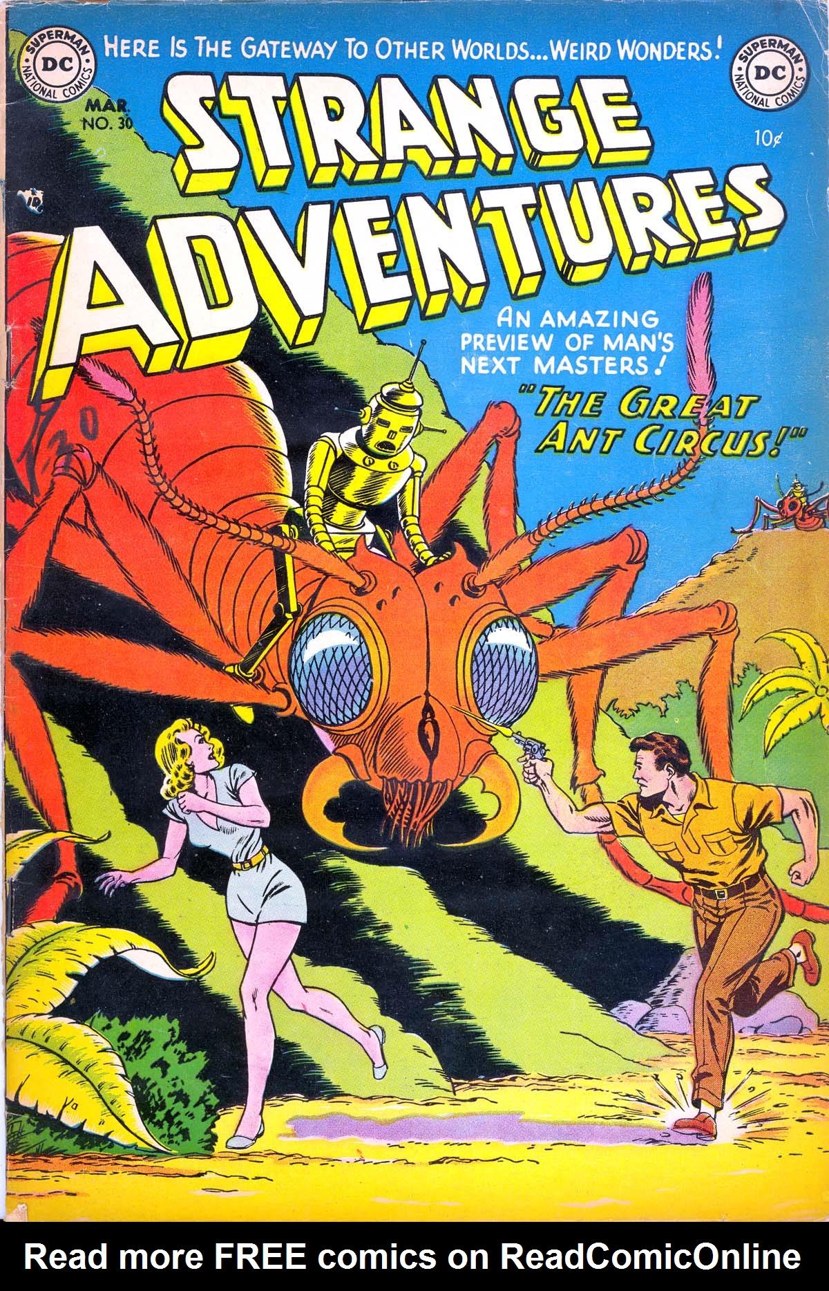 Strange Adventures (1950) issue 30 - Page 1
