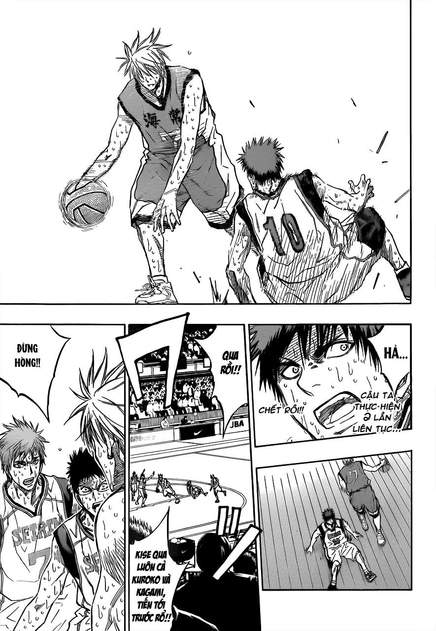 Kuroko No Basket chap 201 trang 9