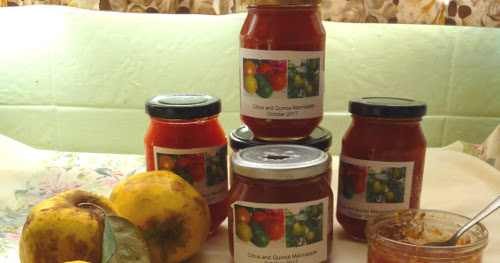 Quince and citrus marmalade
