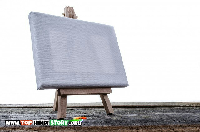 Painting stand and Canvas