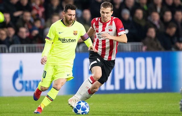 PSV vs Barcelona